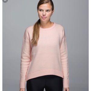 Lululemon Yogi Crew Sweater Hearts